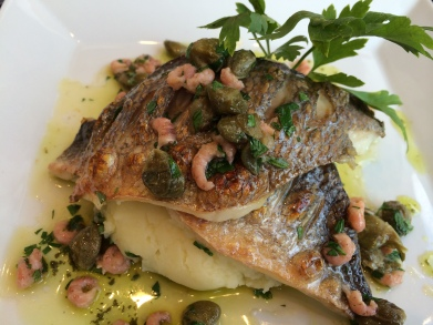 Fillet of Guilt Head Bream