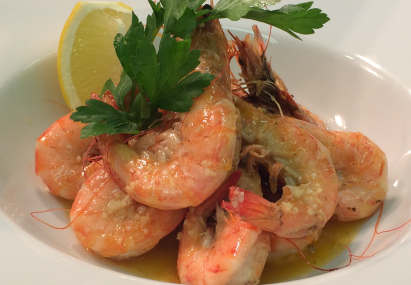 Whole Tiger Prawns