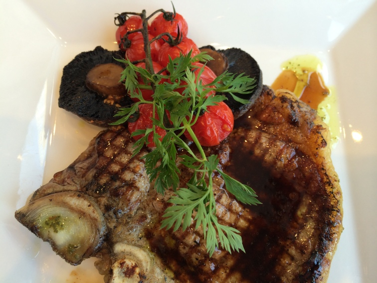 Aged Prime T-Bone Steak